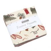 "Frosted Flannels - Charm Pack by Holly Taylor for Moda Fabrics - 42 x 5"" fabric squares"